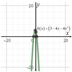 Precalculus: Mathematics for Calculus - 6th Edition, Chapter 3.1, Problem 32E