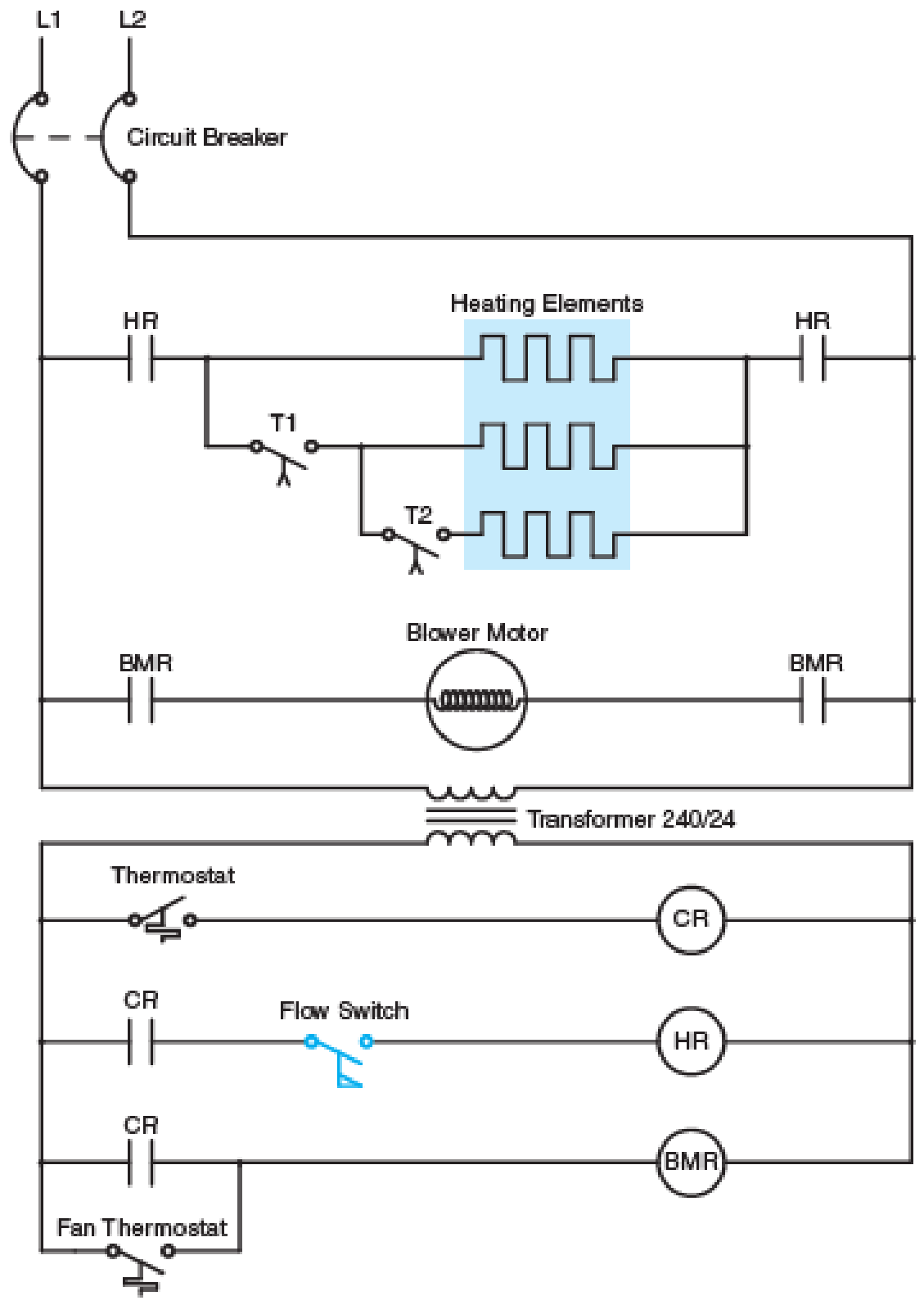 Chapter 12, Problem 4SQ, To answer the following questions refer to Figure 1210. When the thermostat contacts close the