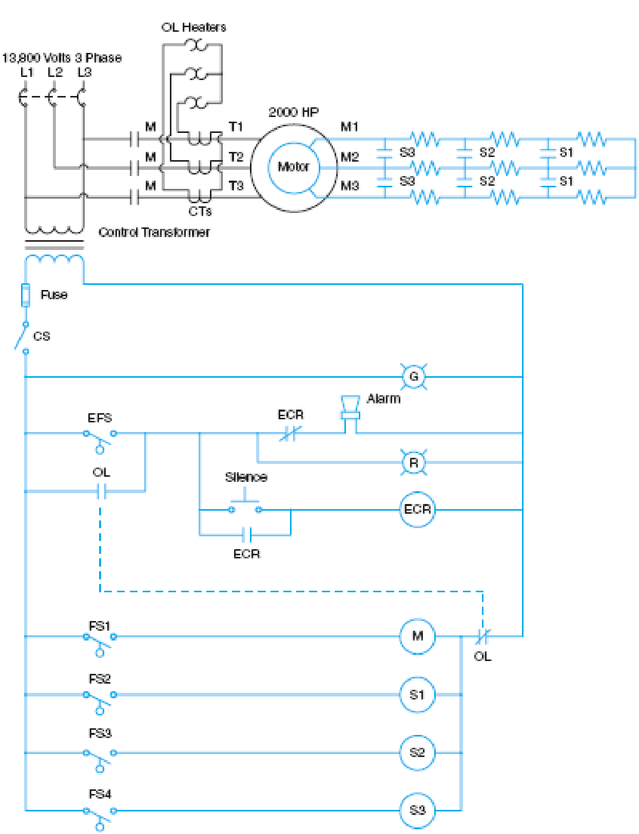 Chapter 37, Problem 4SQ, Refer to the circuit shown in Figure 371. A worker reports that the sump tank is overflowing, the