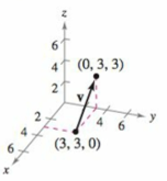 Chapter 11.2, Problem 47E, Finding the Component Form of a Vector in Space In Exercises 45-48, (a) find the component form of