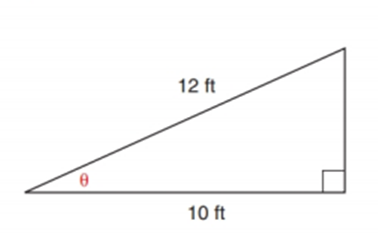 Chapter 11.2, Problem 29E, In Exercise 29 to 37, angle measures should be given to the nearest degree; distances should be
