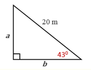 Chapter 11.CT, Problem 7CT, In the drawing provided, find the value of a to the nearest whole number._________