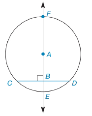 Chapter 6.3, Problem 44E, In Exercises 44 to 47, prove the stated theorem. If a line is drawn through the center of a circle