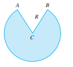 Chapter 3.7, Problem 41E, A cone-shaped drinking cup is made from a circular piece of paper of radius R by cutting out a