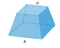 Chapter 5.2, Problem 50E, Find the volume of the described solid S. A frustum of a pyramid with square base of b square top of