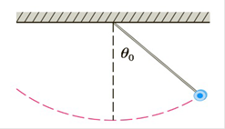 Chapter 7.7, Problem 42E, The figure shows a pendulum with length L that makes a maximum angle 0 with the vertical. Using