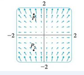 Chapter 16.9, Problem 20E, (a) Are the points P1 and P2 sources or sinks for the vector field F shown in the figure? Give an