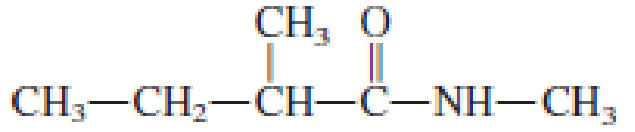Chapter 17, Problem 17.102EP, Classify each of the following amides as unsubstituted, monosubstituted, or disubstituted. , example  2