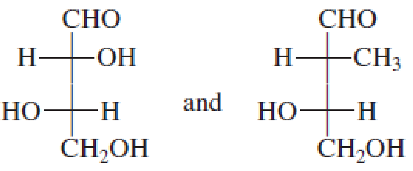 Chapter 18, Problem 18.41EP, Characterize the members of each of the following pairs of structures as (1) enantiomers, (2) , example  2
