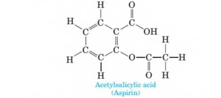 Chapter 10, Problem 10.56P, Following is the structural formula of acetylsali- cylic acid, better known by its common name