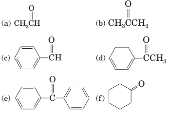 Chapter 17, Problem 17.43P, 17-43 Which of these compounds undergo keto-enol tautomerism?