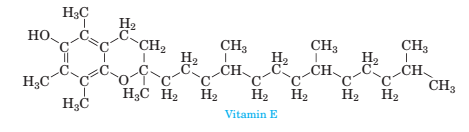 Chapter 3, Problem 3.105P, 3-105 Consider the structure of Vitamin E shown below, which is found most abundantly in wheat germ