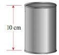 Chapter 1.7, Problem 82E, Dimensions of a Can A cylindrical can has a volume of 40 cm3 and is 10 cm tall. What is its