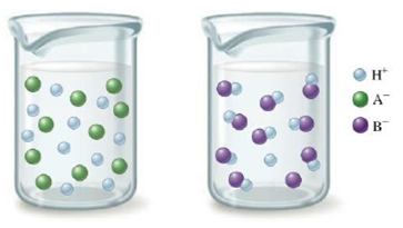 Chapter 13, Problem 40E, Consider the following illustrations: Which beaker best illustrates what happens when the following