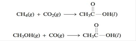 Chapter 16, Problem 63E, Using data from Appendix 4, calculate H, S and G for the following reactions that produce acetic