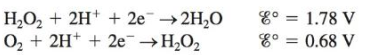 Chapter 17, Problem 42E, Sketch the galvanic cells based on the following half-reactions. Show the direction of electron , example  2