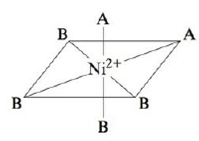 Chapter 20, Problem 89CP, Consider the following complex ion, where A and B represent ligands. The complex is known to be
