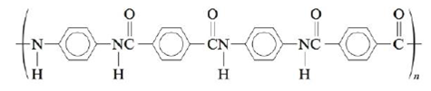 Chapter 21, Problem 125AE, Polyaramid is a term applied to polyamides containing aromatic groups. These polymers were , example  1