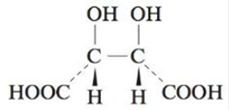 Chapter 21, Problem 147CP, The structure of tartaric acid is a. Is the form of tartaric acid pictured below optically active? , example  2