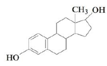 Chapter 21, Problem 158CP, Estradiol is a female hormone with the following structure: How many chiral carbon atoms are in