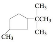 Chapter 21, Problem 22E, Name each of the following cyclic alkanes, and indicate the formula of the compound. a. b. c. , example  2