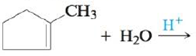 Chapter 21, Problem 62E, Reagents such as HCl, HBr, and HOH (H2O) can add across carboncarbon double and triple bonds, with H , example  2