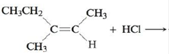 Chapter 21, Problem 62E, Reagents such as HCl, HBr, and HOH (H2O) can add across carboncarbon double and triple bonds, with H , example  3