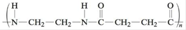 Chapter 21, Problem 72E, What monomer(s) must be used to produce the following polymers? a. b. c. d. e. f. (This polymer is , example  3