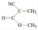 Chapter 21, Problem 73E, Super glue contains methyl cyanoacrylate, which readily polymerizes upon exposure to traces of water