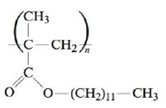 Chapter 21, Problem 82E, Poly(lauryl methacrylate) is used as an additive in motor oils to counter the loss of viscosity at