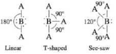 Chapter 4, Problem 25E, There are several molecular structures based on the trigonal bipyrarnid geometry (see Table 4-3).