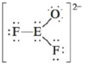 Chapter 4, Problem 36E, Consider the following Lewis structure where E is an unknown element: What are some possible