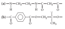Chapter 23, Problem 14QAP, Identify the monomers from which the following condensation polymers are made.
