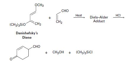 Chapter 14.SE, Problem 24MP, An extremely useful diene in the synthesis of many natural products is known as Danishefsky's