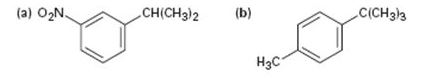 Chapter 16.8, Problem 18P, What aromatic products would you obtain from the KMnO4 oxidation of the following substances?
