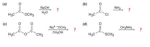 Chapter 21.2, Problem 5P, Predict the products of the following nucleophilic acyl substitution reactions:
