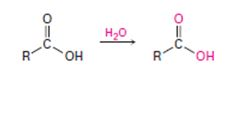 Chapter 21.SE, Problem 68AP, When a carboxylic acid is dissolved in isotopically labeled water, the label rapidly becomes