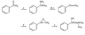 Chapter 24.SE, Problem 68AP, Fill in the missing reagents a-e in the following scheme: