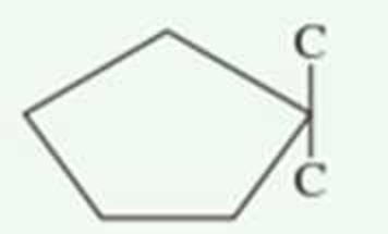 Chapter 1.14, Problem 3QQ, Which of the following cycloalkane structures has a trans-configuration for the alkyl groups? a. no , example  3