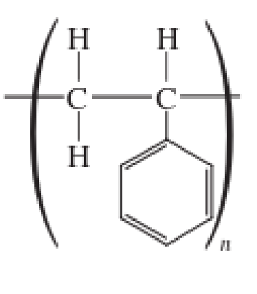 Chapter 2, Problem 2.83EP, Draw the structural formula of the monomer(s) from which each of the following polymers was made. , example  4