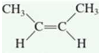 Chapter 2.6, Problem 3QQ, The alkene is in a. a cis configuration b. a trans configuration c. both a cis and a trans