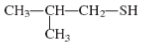 Chapter 3, Problem 3.133EP, Assign a common name to each of the following thiols. , example  4