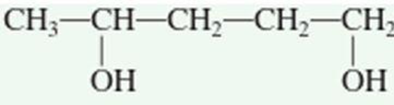 Chapter 3.3, Problem 3QQ, What is the correct IUPAC name for the compound ? a. pentyl dialcohol b. 1,4-dihydroxypentane c.