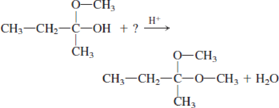 Chapter 4, Problem 4.104EP, Draw the structural formula of the missing compound(s) in each of the following reactions. , example  1