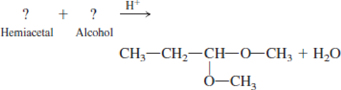 Chapter 4, Problem 4.104EP, Draw the structural formula of the missing compound(s) in each of the following reactions. , example  4