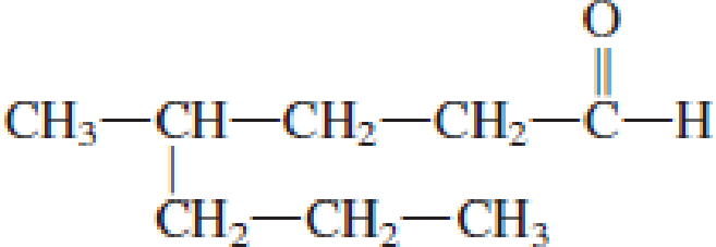 Chapter 4, Problem 4.17EP, Assign an IUPAC name to each of the following aldehydes. a. CH3CH2CHO , example  2