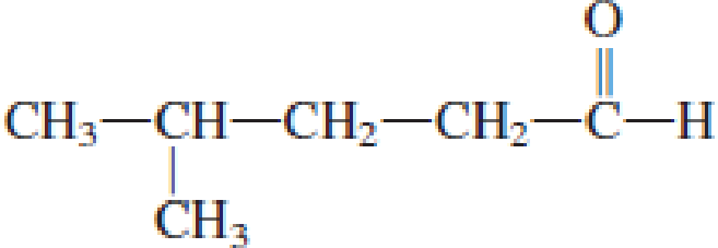 Chapter 4, Problem 4.18EP, Assign an IUPAC name to each of the following aldehydes. a. CH3CH2CH2CHO , example  1