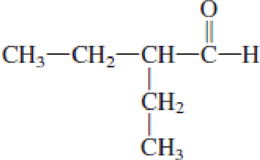 Chapter 4, Problem 4.18EP, Assign an IUPAC name to each of the following aldehydes. a. CH3CH2CH2CHO , example  2