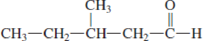 Chapter 4, Problem 4.75EP, Draw the structural formula of the carboxylic acid formed when each of the following aldehydes is , example  2