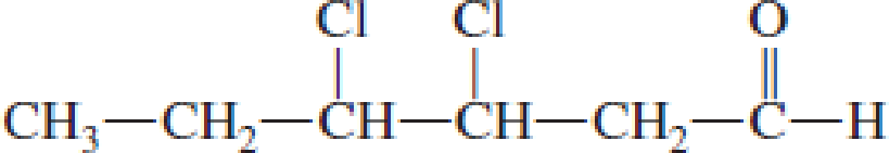 Chapter 4, Problem 4.75EP, Draw the structural formula of the carboxylic acid formed when each of the following aldehydes is , example  4